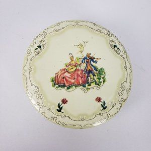 Daher Decorated Ware Courting Couple Tin